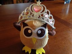 Owly is Diva-for-a-Day, demanding delicious delicacies. Day 94 of #yearofowly #lifeofowly