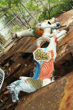 These Pictures of Abandoned Theme Parks Will Make the Child Inside You Cry Okpo Land, South Korea