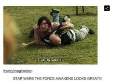 Ah yes, and here we have Kylo Ren's big moment!