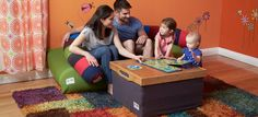 The Yogibo playroom! Perfect for families with young children.