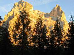monte Pelmo dorato - Dolomites, province of Belluno, Veneto, Northern Italy