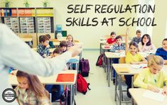 Self Regulation Skills at School | Your Therapy Source.  Pinned by SOS Inc. Resources. Follow all our boards at pinterest.com/sostherapy/ for therapy resources.