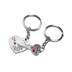 """Arrow """" I Love You """" Heart + Key - Birthday / Valentine's Day / Wedding Anniversary Present Gift for Lovers - The Ultimate Shopping Portal"""