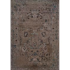 Grey/ Black Transitional Area Rug (5' x 7'6) - Overstock™ Shopping - Great Deals on Style Haven 5x8 - 6x9 Rugs