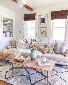 Home Decor Living Room .Home Decor Living Room Boho Living Room, Cozy Living Rooms, Home And Living, Living Room Furniture, Rustic Furniture, Modern Furniture, Modern Living, Antique Furniture, Furniture Deals