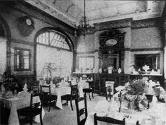 Dining Room at Victoria Station, Nottingham c1902!