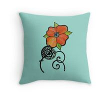 Throw Pillow home decoration and interior designing  by Chikkas Designs on red bubble. Check it out :). bohemian and vintage style