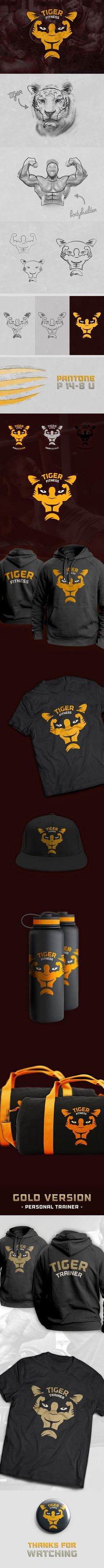 Logo design / Tiger Fitness Center