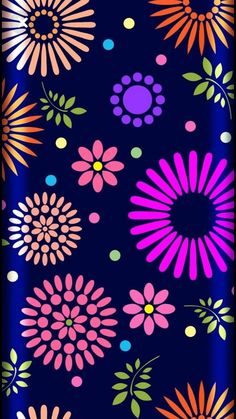 Flowery Wallpaper, Flower Phone Wallpaper, Unique Wallpaper, Cute Wallpaper Backgrounds, Colorful Wallpaper, Cellphone Wallpaper, Colorful Backgrounds, Iphone Wallpaper, Wallpaper For Your Phone