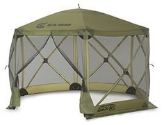 Clam Corporation 9281 QuickSet Escape Shelter 140 X 140Inch Forest Green -- You can get additional details at the image link. This is an Amazon Affiliate links.