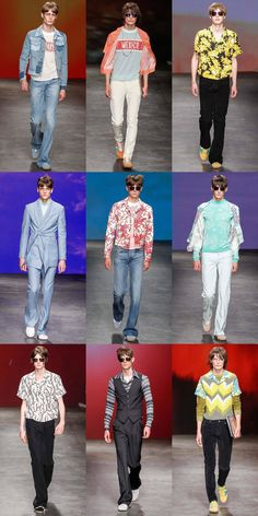 Topman Design Menswear Runway - SS15 Collection
