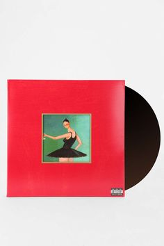 Kanye West - My Beautiful Dark Twisted Fantasy 3XLP Urban Outfitters - ($35)
