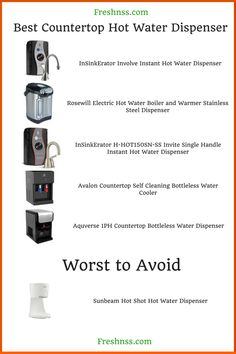 9 Best Countertop Hot Water Dispenser, Plus 1 to Avoid Buyers Guide) Coffee Detox, Detox Tea, Winter Drinks, Summer Drinks, Best Healthy Soup Recipe, Vanilla Chai Tea, Best Mixed Drinks, Chai Tea Recipe, Hot Water Dispensers