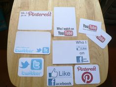Cool social media free cards for PL from Scrappy Sticky Inky Mess