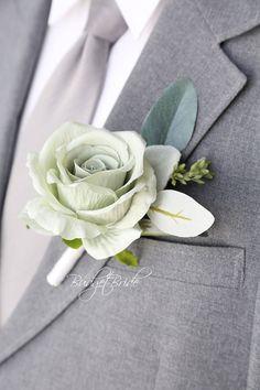 Davids Bridal Mint Green Wedding Bouquet
