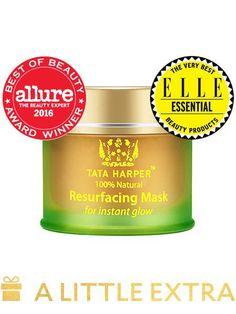 Resurfacing Mask   Exfoliating Mask Treatment   100% Natural Antiaging Skincare - Tata Harper Skincare