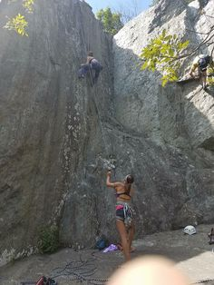 A great climbing partner makes a great friend. Great Falls, VA