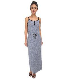 Calvin Klein Jeans Calvin Klein Jeans  Printed Cinched Waist Maxi Splendor Womens Dress for 54.99 at Im in!