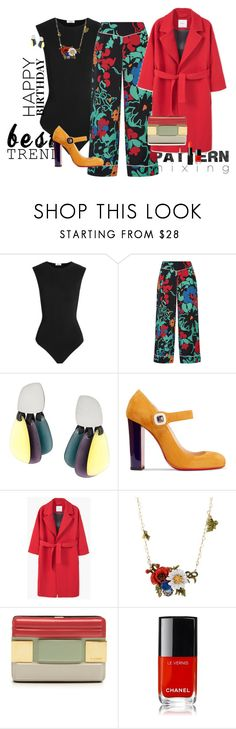 """""""Celebrate Our 10th Polyversary!"""" by claire86-c on Polyvore featuring moda, Alix, RIXO London, Monies, Christian Louboutin, MANGO, Les Néréides, Elie Saab, Chanel e NARS Cosmetics"""