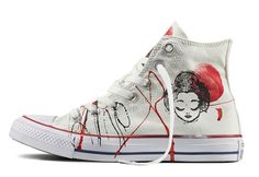 Converse Chuck Taylor All Star Handpainted pour Femme