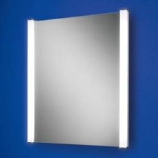 The Casey Back-Lit Bathroom Mirror has two frosted lit strips and a heat pad to stop misting. A great choice and one of our best sellers.