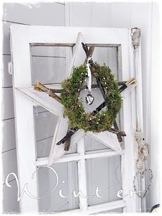Love it. Use scrap wood for the star, the rest is forest glam!