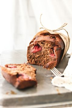 Strawberry Banana Bread!
