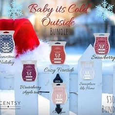 Wickless candles and scented fragrance wax for electric candle warmers and scented natural oils and diffusers. Shop for Scentsy Products Now! Christmas Scents, Christmas 2019, Christmas Ornaments, Christmas Gift Exchange, Apple Tea, Scented Wax Warmer, Wax Warmers, Hostess Gifts, Scented Candles