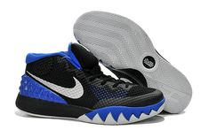 timeless design 28cba bf666 Boy Kyrie 1 Brotherhood Lyon Blue Metallic Silver Black Anthracite 705277  400 Nike Kyrie, Usc