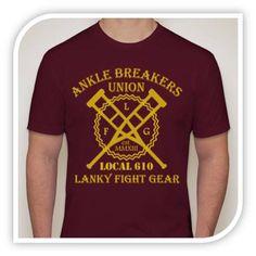 Ankle Breakers Union - Maroon - Lanky Fight Gear