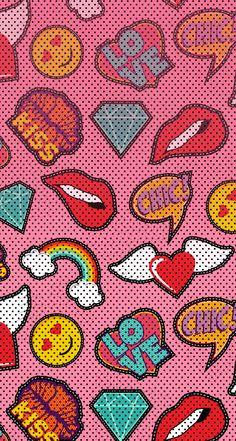 Crazy Wallpaper, Pretty Phone Wallpaper, Pop Art Wallpaper, Couple Wallpaper, Cute Patterns Wallpaper, Cute Wallpaper Backgrounds, Colorful Wallpaper, Galaxy Wallpaper, Cute Wallpapers