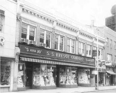 S.S. Kresge stores - another 5 & 10 cent store I loved