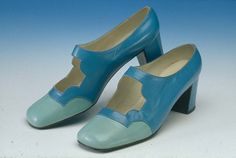 Beautiful Blue Shoes made by Enosis. @Northampton Museums And Art Gallery #myfavshoe