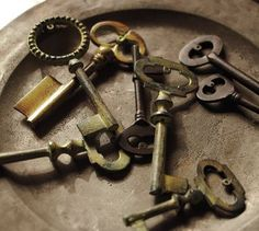 I have an awesome skeleton key idea. But nowhere to put the completed project