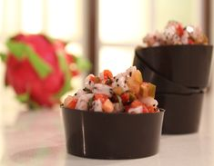 Strawberry and Dragon Fruit Salsa