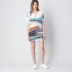 Daryl K Zip Up Shirt Dress   Womens Dresses   Steven Alan