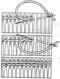 Weaving Loom Diy, Weaving Art, Tapestry Weaving, Smocking Tutorial, Smocking Patterns, Embroidery Stitches, Hand Embroidery, Punto Smok, Weaving Wall Hanging