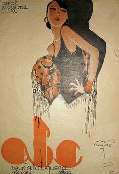 Capa para a revista ABC, 1927