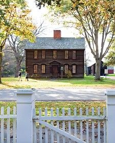 Along a 339-year-old mile-long street in New England's aptly named Pioneer Valley, the homes of historic Deerfield, Massachusetts, tell the story of early American village life -- ghosts and all.