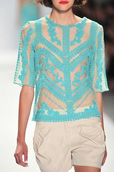 Nanette Lepore Spring 2014 - Details
