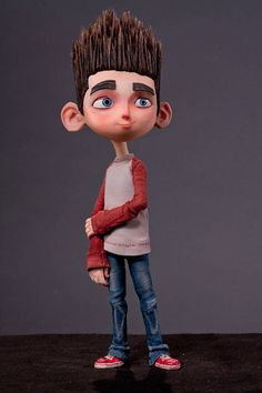 Norman Babcock, an outcast kid who speaks to the dead - Paranorman