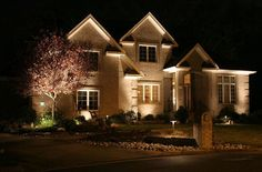 Outdoor Home Lighting Custom 29 Best Night Light Images On Pinterest  Exterior Lighting