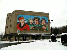 Mural in Jamestown, New York