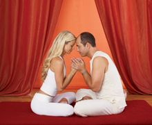 Three nurturing tantra meditations to bond with your partner - Nurturing meditation, Hand on heart, and Yab Yum