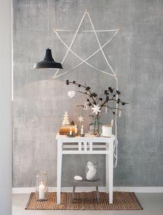 A beautiful way to set the mood for your guests as they walk through your door.