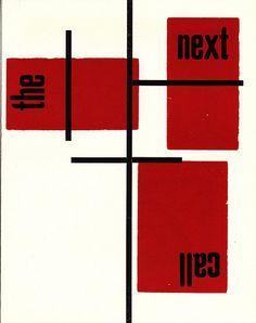 H. N. Werkman | The Next Call [No. 2, October 1923] | DESIGN ...