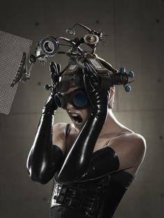 New_Order, Caesar Lima, Behance, cyberpunk girl, cyber girl, cyber fashion, future fashion, cyber art, steempunk, punk girl, future punk by FuturisticNews.com