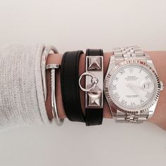 #armparty silver stack