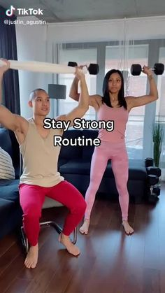 Gym Workout For Beginners, Gym Workout Tips, Fitness Workout For Women, Fit Board Workouts, Workout Routines, Easy Workouts, Workout Videos, At Home Workouts, Chair Exercises