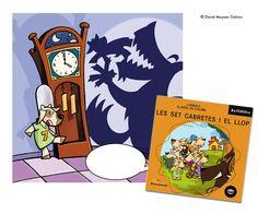 Les set cabretes i el Llop. Illustrated book. Barcanova